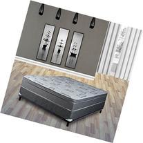 Continental Sleep Mattress,  Foam Encased 10 Inch Eurotop
