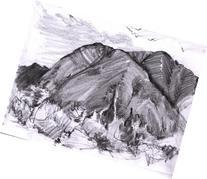 Cook's Glazier Sketch