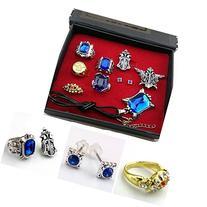 Cosplay Black Butler Ciel Sebastian Ring Necklace Earring