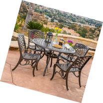 Great Deal Furniture Covington | 5 Piece Cast Aluminum