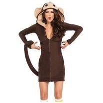 Cozy Monkey Dress Medium