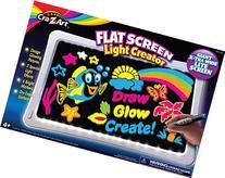 Cra-Z-Art Lite Up Flat Screen Dry Erase Large Board