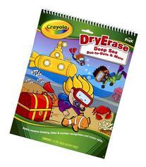 Crayola Dry Erase Activity Tablet Deep Sea Dot To Dots And