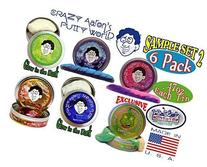 Crazy Aaron's Thinking Putty Mini Tin Gift Set Bundle  with