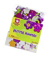 Creative Hands by Fibre-Craft Foam Glitter Stickers, 2.25-