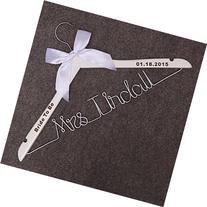 Custom Bridal Hanger-Wededing,Bridal Hanger one line, Brides