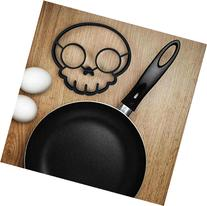 Cute Silicone Kitchen Skull Egg Fried Shaped Mould Shaper