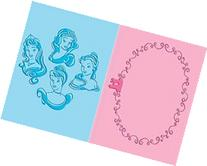 Cuttlebug A2 Embossing Duo Set-Princesses