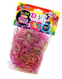 D.I.Y. Do it Yourself Zupa Loomi Bandz 600 Translucent Glow-
