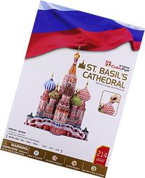 DARON ST BASIL'S CATHEDRAL 3D PUZZLE WITH BOOK 214 PCS