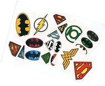 DC Comics Logo Temporary Tattoos