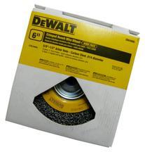 DEWALT DW4905 6-Inch Crimped Bench Wire Wheel, 5/8-Inch-1/2-