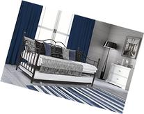 DHP Tokyo Daybed and Trundle with Metal Frame, Twin Size,