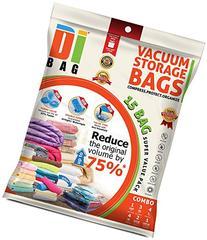 Space Saver Vacuum Storage Bags - 15 Premium Travel Space