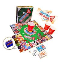 "DRINK-A-PALOOZA Board Game: combines ""old-school"" + ""new-"