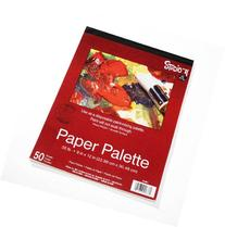 Darice 9-Inch-by-12-Inch Paper Palette, 50-Sheets