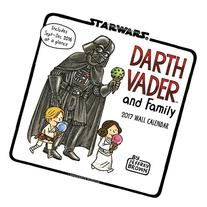 Darth Vader and Family 2017 Wall Calendar