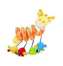 Dcolor Giraffe Baby Crib Activity Spiral Stroller Toy