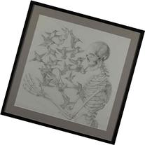 Death and Hummingbirds Drawing