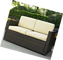 Deep Seating Patio Loveseat -This Contemporary Outdoor