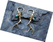 Deer Antler Earrings, Antler Earrings, Hunting Themed