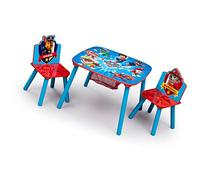 Delta Children Table and Chair Set with Storage, Nick Jr.