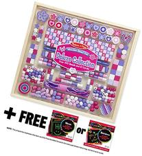 Deluxe Collection Wooden Bead Set  + FREE Melissa & Doug