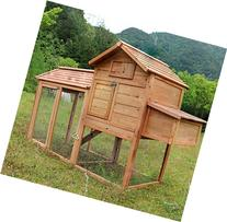 MCombo 0311L Deluxe Large Chicken Poultry Coop Hen House