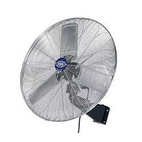 "Deluxe Oscillating Wall Mount Fan, 30"" Diameter, 1/2hp, 10,"