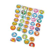 Dental Roll Sticker Assortment, 5 Rolls 100 Stickers Per
