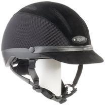 Devon-Aire Adult Concour Riding Helmet, Medium, Black
