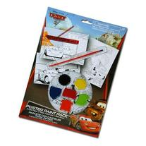 Disney Cars Paint Your Own Poster Kit - 10 Piece Set with