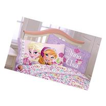 Disney Frozen Anna & Elsa Reversible Standard Pillowcase