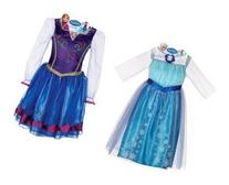 Disney Frozen Elsa and Anna Dress Combo Pack