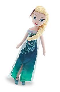 Disney Frozen Fever Elsa Plush Doll - Medium - 20