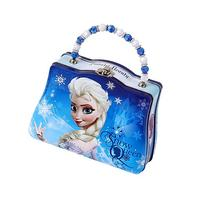 Disney Frozen Scoop Carry All Tin Classic Purse with Beaded