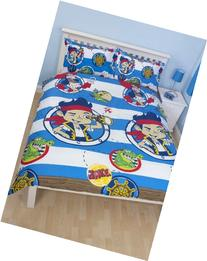 Disney Jake and TNP Doubloons Double Rotary Duvet Set