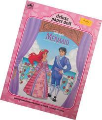 Disney LITTLE MERMAID Deluxe PAPER DOLL Book UNCUT w ARIEL