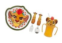 Disney Lion Guard Mealtime Magic Set with Plate, Flatware