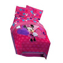 Disney Minnie Exploded Hearts Reversible Comforter