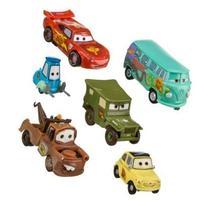 Disney Pixar Cars - Lightning McQueen Pit Crew - 6 Figure