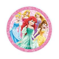 Disney Princesses Baby Girls Meal Time Food Plate - 8 Inches