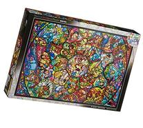 Disney Stained Art Jigsaw Puzzle All Stars Stained Glass