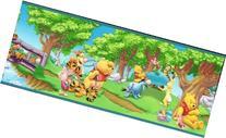 Disney's Winnie the Pooh Summer Fun Blue Border