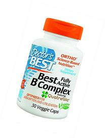 Doctor's Best - Best Fully Active B Complex - 30 Vegetarian
