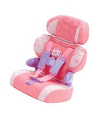Doll Car Seat And Booster With Seatbelt For Dolls