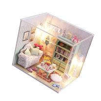 Cuteroom Dollhouse Miniature DIY Wood Kit Dolls house with
