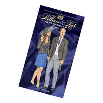 Dollhouse Miniature Tierney - William And Kate Paper Dolls