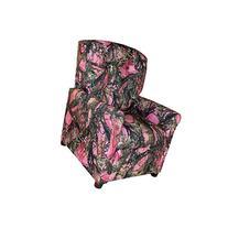 Dozydotes Child Recliner 4 Button Camouflage Pink - True