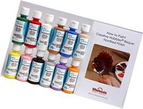 Duncan OSKIT-1 Acrylic Paint Set, 12 Best Selling Colors in